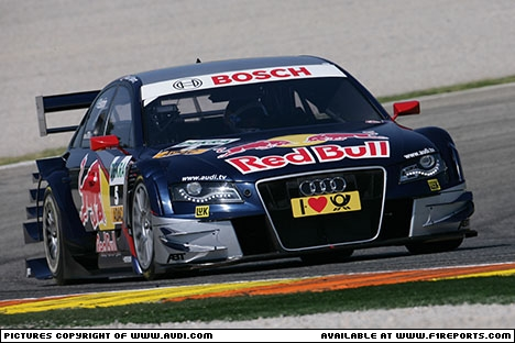 Branding for Audi, 2010 DTM Valencia, Round 2 Image © Audi - 22nd May 2010 - www.f1reports.com