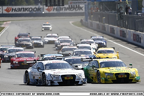 Branding for Audi, DTM 2014 - Round 5, Moscow Raceway Race. Image © Audi - 13th Jul 2014 - www.f1reports.com