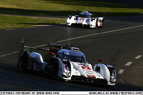 Branding for Audi, WEC 2014 - Round 3, Le Mans, Qualifying. Image © Audi - 13th Jun 2014 - www.f1reports.com