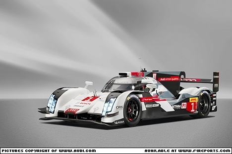 Branding for Audi, WEC 2014 - Audi R18 e-tron quattro. Image © Audi - 26th Mar 2014 - www.f1reports.com