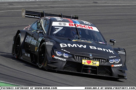 Branding for BMW, DTM 2017 - Testing at Hockenheim (3rd ‑ 6th April). Image © BMW Motorsport - 11th Apr 2017 - www.f1reports.com