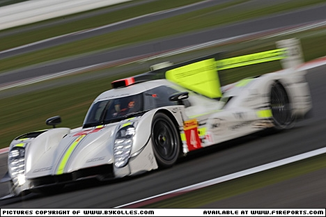 Branding for ByKOLLES RACING, WEC 2015 - Le Mans, Wednesday. Image © By Kolles Racing - 11th Jun 2015 - www.f1reports.com