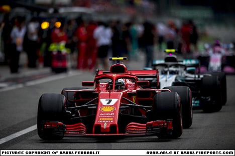 Branding for Ferrari, Italian Grand Prix, Sunday, Part 2 Image © Ferrari - 4th Sep 2018 - www.f1reports.com