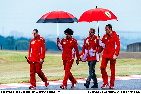Branding for Ferrari, Japanese Grand Prix, Friday, Part 1 Image © Ferrari - 5th Oct 2018 - www.f1reports.com