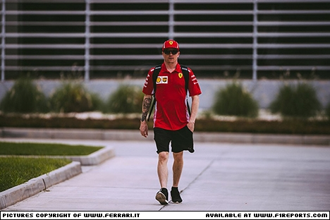 Branding for Ferrari, 2018 Bahrain Grand Prix, Friday, Part 1 Image © Ferrari - 6th Apr 2018 - www.f1reports.com