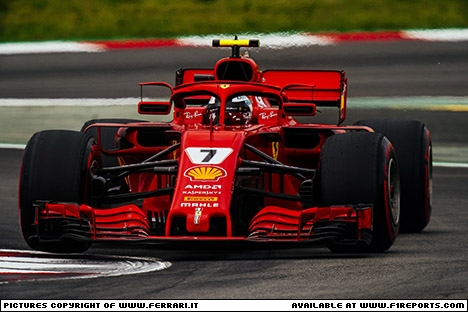 Branding for Ferrari, 2018 Spanish Grand Prix, Saturday, Part 1 Image © Ferrari - 12th May 2018 - www.f1reports.com
