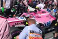 Branding for Force India F1, Austrian Grand Prix, Sunday, Part 1 Image © Force India - 1st Jul 2018 - www.f1reports.com