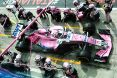 Branding for Force India F1, Italian Grand Prix, Sunday, Part 2 Image © Force India - 4th Sep 2018 - www.f1reports.com