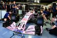 Branding for Force India F1, 2017 Brazilian Grand Prix, Friday and Saturday, Part 1 Image © Force India - 11th Nov 2017 - www.f1reports.com