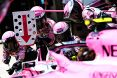 Branding for Force India F1, 2018 Chinese Grand Prix, Sunday, Part 1 Image © Force India - 15th Apr 2018 - www.f1reports.com