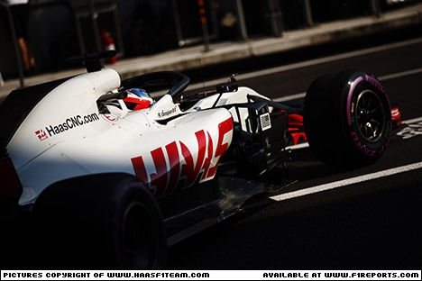 Branding for Haas F1, Mexican Grand Prix, Saturday, Part 1 Image © Haas F1 Team - 28th Oct 2018 - www.f1reports.com