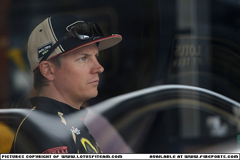 Branding for Lotus F1, 2012 Hungarian Grand Prix, Saturday. Image © Lotus F1 Team - 28th Jul 2012 - www.f1reports.com