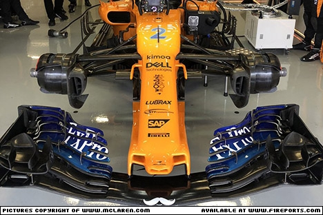 Branding for McLaren F1, Mexican Grand Prix, Sunday, Part 1 Image © McLaren - 29th Oct 2018 - www.f1reports.com