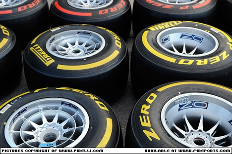 Branding for Pirelli, 2012 Canadian Grand Prix, Saturday. Image © Pirelli - 10th Jun 2012 - www.f1reports.com