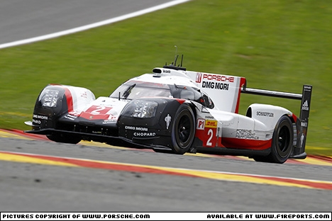 Branding for Porsche, WEC 2017 - Spa-Francorchamps/Belgium. Friday. Image © Porsche - 6th May 2017 - www.f1reports.com