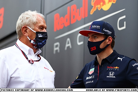 Branding for Red Bull Racing, Italian Grand Prix, Friday, Part 1 Image © Red Bull Racing - 11th Sep 2021 - www.f1reports.com