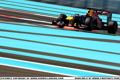 Branding for Red Bull Racing, 2011 Young Driver Test, Abu Dhabi. Image © Red Bull Racing - 15th Nov 2011 - www.f1reports.com