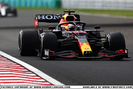 Branding for Red Bull Racing, Hungarian Grand Prix, Sunday. Image © Red Bull Racing - 26th Aug 2021 - www.f1reports.com