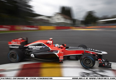 Steve Etherington's images from the 2011, Belgian Grand Prix   - Friday. Image © Steve Etherington - 26th Aug 2011 - www.f1reports.com