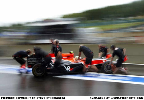 Steve Etherington's images from the Belgian Grand Prix - Friday. Image © Steve Etherington - 27th Aug 2010 - www.f1reports.com