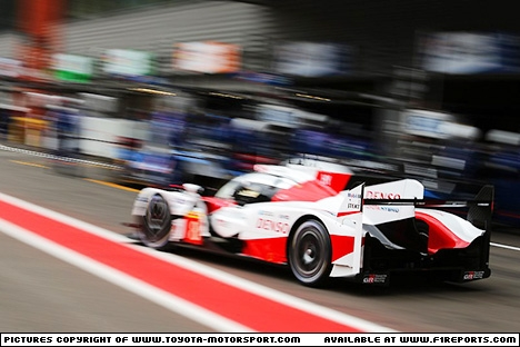 Branding for Toyota, WEC 2017 - Spa-Francorchamps/Belgium. Friday. Image © Toyota TMS - 6th May 2017 - www.f1reports.com