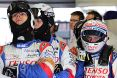 Branding for Toyota, WEC 2015 - Le Mans, Sunday. Image © Toyota TMS - 14th Jun 2015 - www.f1reports.com