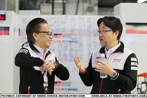 Branding for Toyota, WEC 2017 - Fuji/Japan Sunday. Image © Toyota TMS - 15th Oct 2017 - www.f1reports.com