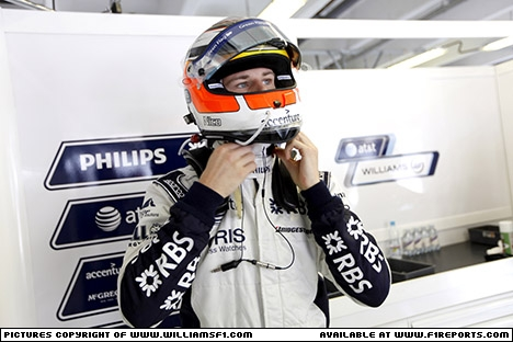 Branding for Williams F1, 2010 Hungarian Grand Prix. Image © Williams - 2nd Aug 2010 - www.f1reports.com